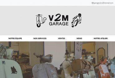 Un site web pour V2M